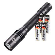NITECORE MT21A CREE XP-E2 LED Flashlight 260 Lmn + 4x AA Energizer Max Alkaline