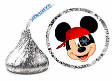 216 PIRATE MICKEY MOUSE BIRTHDAY PARTY FAVORS HERSHEY KISS KISSES LABELS