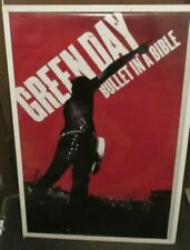 GREEN DAY POSTER NEW  2006 RARE VINTAGE COLLECTIBLE OOP LIVE  BULLET