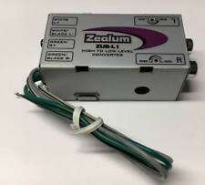 High-Low-Adapter, Lautsprecher auf Cinch Wandler ZUS-L1