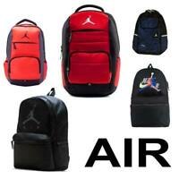 NIKE AIR JORDAN JUMPMAN BACKPACK PREMIUM LAPTOP BLACK GYM RED BLUE UNISEX STYLES