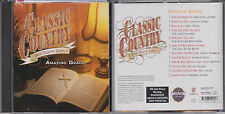 Classic Country AMAZING GRACE Great Gospel TIME LIFE CD Jordanaires George Jones