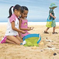 24cm Shell Beach Mesh Bags Children Beach Toys Clothes Towel Bag Baby ToySC