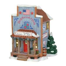 Dept 56 Jim Shore New England Village New 2019 Coleman'S Trading Post 6003100
