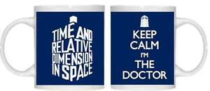 Beautiful Doctor Who Mug Tardis Tea Coffee Birthday Gift Present Keep Calm