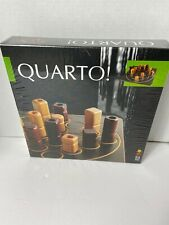 Gigamic QUARTO! strategy board game 2 player 1991 Wooden Board *NEW*