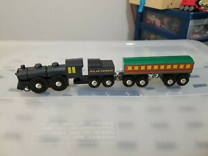 BRIO Polar Express Wooden Train Set Complete Super Vintage 1990's !