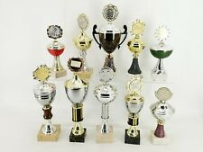 Pokale 10 Stück, Konvolut, Gold Silber Bronze gemischt