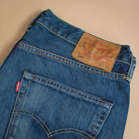 Vintage Levi 501 Jeans Blue Straight Button Fly Unisex (Patch W32L32) W 33 L 32