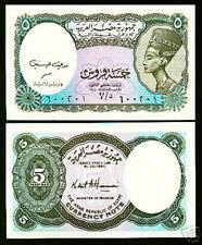 Egypte 1998/1999  5 Piaster bankbiljet/banknote Queen Nefertiti - UNC & CRISP