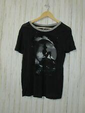 Disney The Little Mermaid Black Soft T-Shirt Size Medium