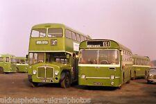 Crosville VDB965 & HHD869 Northwich 11/03/73 Bus Photo