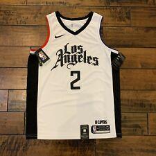New Nike Los Angeles Clippers #2 Leonard City Edition Swingman Jersey Size 48/L