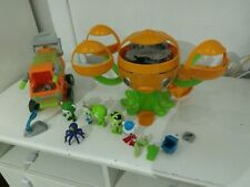 Octonauts toy bundle  with figures sounds tested and working
