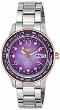 Seiko 5 Sports Purple Dial 800pcs Limited Edition Ladies Watch SRP376K1