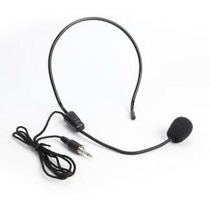 Head Mounted Microphone 3.5mm Wired Headset Mic for Teacher Guide Speech UK