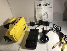 Bush VCC 200 VHS/C Video Camcorder Bundle RARE TESTED