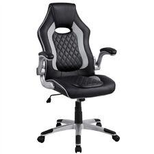 Chaise de Bureau Ergpnomique Fauteuil Bureau Gaming Accoudoirs Pliables Pivotant