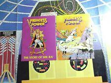 1980's Story of SHE-RA PRINCESS OF POWER Mini comic book lot #1 Mizar, EXCELLENT