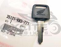 Genuine Honda key MC19 CBR 250 600F 900 1000F VFR750 VTR250 XR p/n 35121-KW3-771