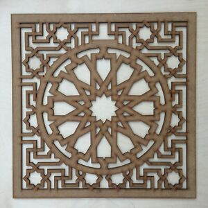 Radiator Cabinet Decorative Screening Square Radiator Grille MDF 3mm and 6mm P74