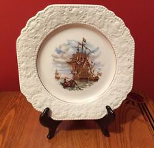 Lord Nelson Pottery, England, Maritime Scene Plate