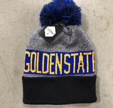 NWT - Golden State Warriors Team Color Pom pompom Beanie winter hat FREE S H 3a310f3140fa