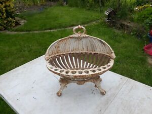 Vintage French fire Grate