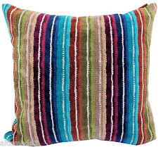 MISSONI HOME CUSHION COVER  3D CHEVRONS EFFECT NATHAN 170 100% COTTON VELOUR