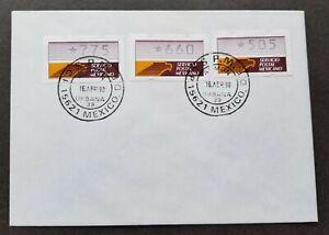 [SJ] Mexico 1990 ATM (Frama Label stamp FDC) *rare