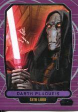 Star Wars Galactic Files Series 1 Base Card #210 Darth Plagueis