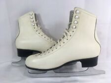 Celebrity Figure Ice Skates Mk Sheffield Silver Brazed Fiesta Blades 9B