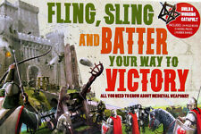 Fling, Sling and Batter Your Way to Victory - Build a Catapult Kit NEW
