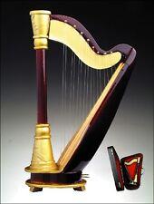 """Lovvbugg Mini Harp in CASE for 18"""" American Girl Doll Musical Instrument  Found"""