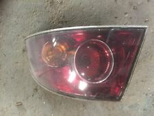 06-08 Seat Ibiza 6L Driver off side outer rear back tail light lamp smoked