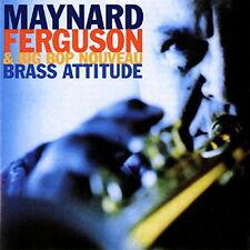 Maynard Ferguson & Big Bop Nouveau Brass Attitude 1998 Concorde CD Album