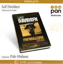 Hörbuch Schwedisch: Leif Davidsen, Paparazzons Heder, 13 CD, Schweden