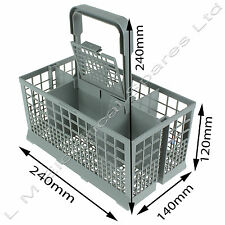 Brand New Cutlery Basket Drawer & Handle For Baumatic Dishwashers - Grey
