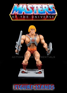 He Man Display Stands for Vintage MOTU He Man Action Figures 1980's