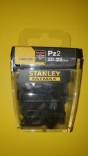 Stanley Fatmax Pz2 x20 impact screwdriver tips, new unused!!!