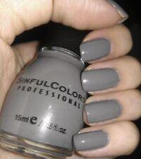 Sinful Colors Hypnotic Transforming Top Coat Polish 2337 - Concrete Jungle - NEW