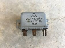 Porsche 356 Headlight Relay #5  C#107    644 615 103 00
