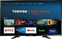 "Toshiba 50"" in 4K LED Smart Fire TV Dolby Vision HDR Ultra HD 2160P (2dayShip)"