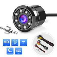 Reverse Backup 170° Car Rear View Camera Night vision Waterproof AUTO Display