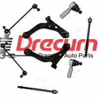 8 Lower Control Arm Ball Joint Tie Rod Sway Bar Link For Ford Escape Tribute