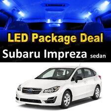For 2004 - 2017 2018 Subaru Impreza LED Lights Interior Package Kit BLUE 6PCS