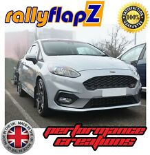NEW rallyflapZ FORD FIESTA MK8 ST ST-LINE Mud Flaps Kit Black 4mm PVC set of 4