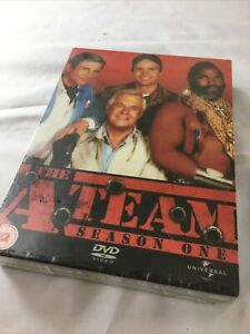 The A-Team - Series 1 (DVD, 2004, 5-Disc Set, Box Set) New and Sealed.