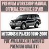 *WORKSHOP MANUAL SERVICE & REPAIR GUIDE for MITSUBISHI PAJERO 1996-2006