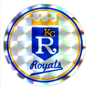 Ancien Autocollant Réflecteur MLB Baseball Kansas City Royals Sport Kodak 1980